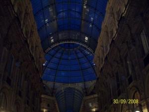 30 Eylul 2008 - Galleria Vittorio Emanuele II, Milano, Italya -02-