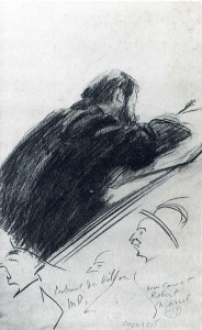 Marcel Duchamp - Portrait of Jacques Villon