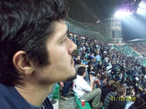 Mehmet Ali Cetinkaya - 01 Ekim 2008 - Inter Milan - Werder Bremen, Giuseppe Meazza, Milano, Italya -01-