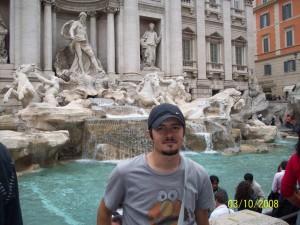 Mehmet Ali Cetinkaya - 03 Ekim 2008, Trevi, Ask Cesmesi, Roma, Italya