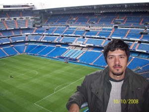 Mehmet Ali Cetinkaya - 10 Ekim 2008 -Santiago Bernebeu, Madrid, Ispanya -01-