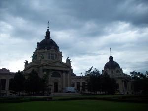 16 Haziran 2009 - Szechenyi Termal Hamam, Sehir Parki, Budapeste, Macaristan -01-