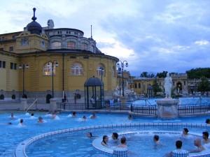 16 Haziran 2009 - Szechenyi Termal Hamam, Sehir Parki, Budapeste, Macaristan -02-