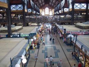 17 Haziran 2009 - Nagycsarnok, Center Market Hall, Budapeste, Macaristan -01-