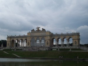19 Temmuz 2009 - Gloriette, Schonn Brunn Sarayi, Viyana, Avusturya