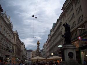19 Temmuz 2009 - Viyana Veba Sutunu, Viyana, Avusturya