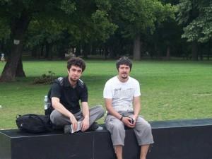 Mehmet Ali Cetinkaya - Erdem Ceydilek - 16 Haziran 2009 - Sehir Parki, Varosliget, Budapeste, Macaristan