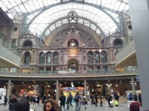 28 Kasim 2013 - Antwerpen Tren Istasyonu, Belcika