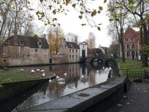 28 Kasim 2013 - Begijnhof Manastiri, Brugge, Belcika -01-
