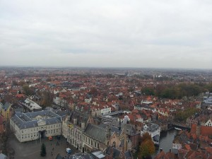 28 Kasim 2013 - Belfart Can Kulesinden, Brugge, Belcika -01-