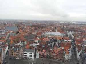 28 Kasim 2013 - Belfart Can Kulesinden, Brugge, Belcika -03-