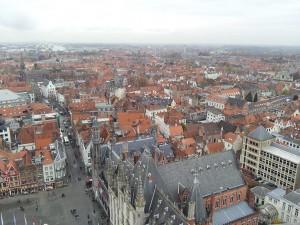 28 Kasim 2013 - Belfart Can Kulesinden, Brugge, Belcika -04-