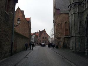 28 Kasim 2013 - Onze Lieve Vrouwekerk (Church of Our Lady), Brugge, Belcika -01-