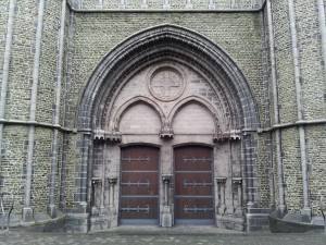 28 Kasim 2013 - Onze Lieve Vrouwekerk (Church of Our Lady), Brugge, Belcika -03-