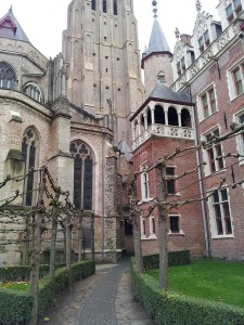 28 Kasim 2013 - Onze Lieve Vrouwekerk (Church of Our Lady), Brugge, Belcika -06-