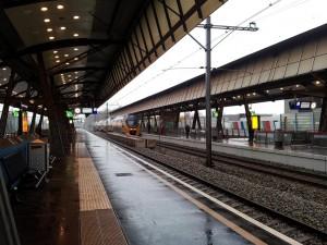 28 Kasim 2013 - Rotterdam Lombardijen Tren Istasyonu, Hollanda