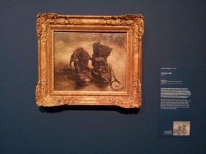 29 Kasim 2013 - A Pair of Shoes (1886), Van Gogh Museum, Amsterdam, Hollanda