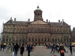 29 Kasim 2013 - Koninklijk Paleis Amsterdam (Royal Palace of Amsterdam, Amsterdam Kraliyet Sarayi), Amsterdam, Hollanda