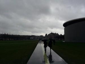 29 Kasim 2013 - Museumplein (Museum Square, Muze Meydani), Amsterdam, Hollanda