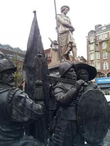 29 Kasim 2013 - Rembrandtplein(Rembrandt Square, Rembrandt Meydani), Amsterdam, Hollanda -02-