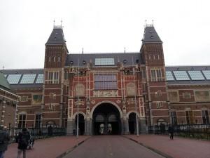 29 Kasim 2013 - Rijksmuseum (State Museum, Devlet Muzesi), Amsterdam, Hollanda -02-