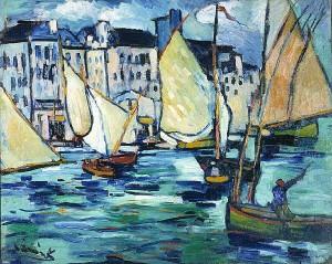 Maurice de Vlamick - Le Havre Le Grand Quai