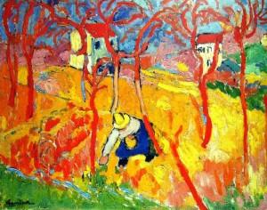 Maurice de Vlaminck - Le Jardinier aka The Gardener (1904)