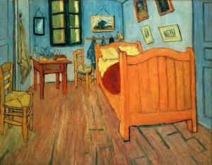 Van Gogh - Bedroom in Arles (1888)