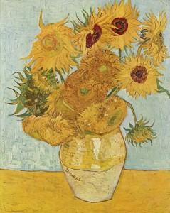 Van Gogh - Still Life, Vase with Twelve Sunflowers (August 1888)