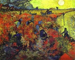 Van Gogh - The Red Vineyard (November 1888)