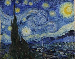Van Gogh - The Starry Night (June 1889)