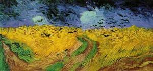 Van Gogh - Wheatfield with Crows (1890)