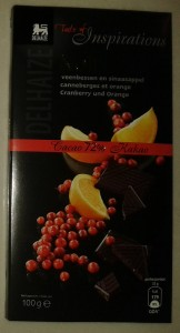 Delhaize - Taste of Inspirations - Cranberry and Orange