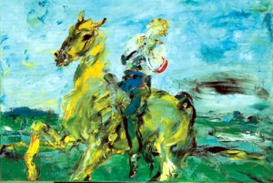 Jack Butler Yeats  - O The Knight Who Sings (1962)