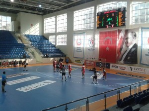 15 Subat 2014 - Genclerbirligi - Mersin SK Hentbol Maci, THF Salonu, Ankara -2-
