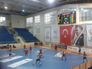 15 Subat 2014 - Genclerbirligi - Mersin SK Hentbol Maci, THF Salonu, Ankara -3-