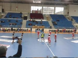 15 Subat 2014 - Genclerbirligi - Mersin SK Hentbol Maci, THF Salonu, Ankara -4-