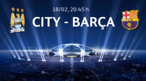2013-14 Champions Leage, Round of 16, February 18th 2014, City - Barca