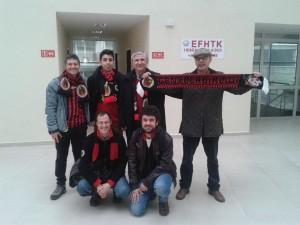 Mehmet Ali Cetinkaya - 15 Subat 2014 - Genclerbirligi - Mersin SK Hentbol Maci, THF Salonu, Ankara