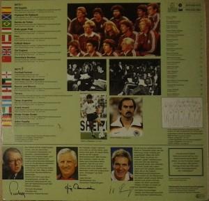 Michael Schanze Und Die Fussball-Nationalmannschaft - Ole Espana (1982 Espana World Cup ) - Arka