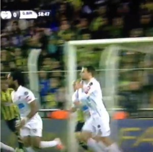 1 Mart 2014 - Fenerbahce - Genclerbirligi 1. Penalti -3-