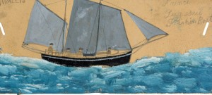 Alfred Wallis - French Lugsail Fishing Boat Kettles Yard