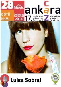 Luisa Sobral - 17. Ankara Caz Festivali Posteri