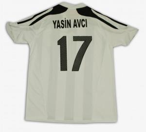 2008-09 Yasin Avci (17) -Altay- -Arka-