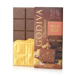 Godiva - Milk Chocolate Salted Caramel (31Cacao)