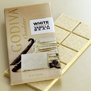 Godiva - White Chocolate Vanilla Bean