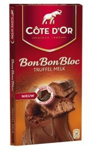 Cote D'Or - Bon Bon Bloc Truffel Melk