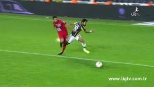 25 Ekim 2014 - Fenerbahce - Genclerbirligi, Alper Potuk, Ilk Penalti -1-