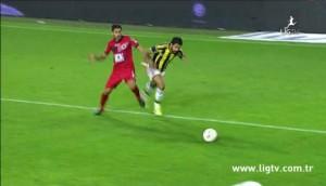 25 Ekim 2014 - Fenerbahce - Genclerbirligi, Alper Potuk, Ilk Penalti -2-