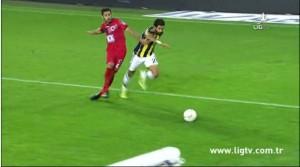 25 Ekim 2014 - Fenerbahce - Genclerbirligi, Alper Potuk, Ilk Penalti -3-